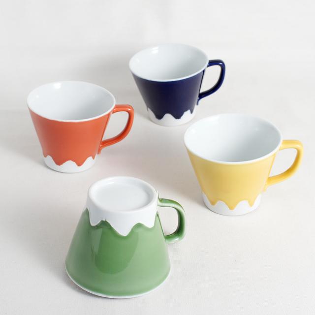 【和食器通販 金照堂】富士山 マグカップ