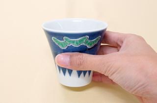 和食器通販 金照堂 富士(三保の松原) ペアカップ