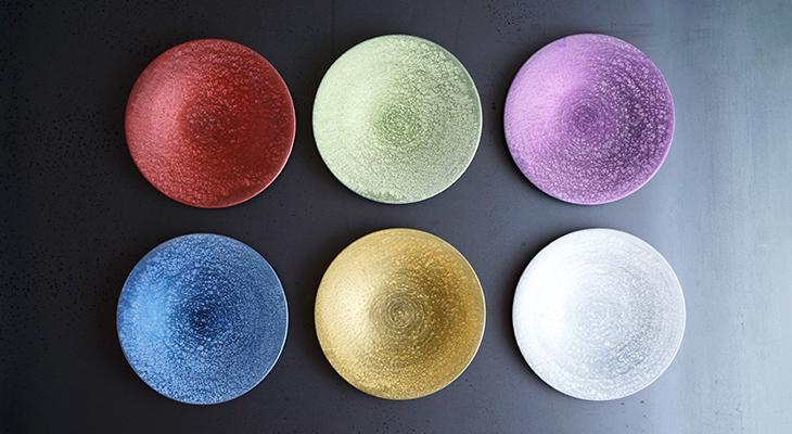 【和食器通販 金照堂】  麟 Lin(りん) 麟 Lin 15cm平皿(6色)